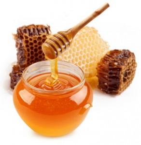 Hausmittel Honig und Quark