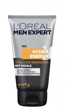 L'Oréal Men Expert Hydra Energy Xtreme Reinigungsgel mit Kohle, 1er Pack (1 x 150 ml) - 1