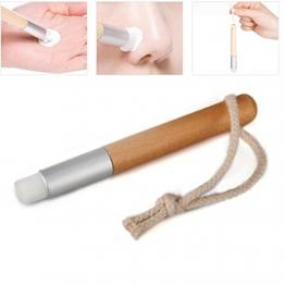 Mitesser entfernen Remover Nase Pore klare Pinsel kosmetische Werkzeug persönliche Haut Pflegeprodukte - 1